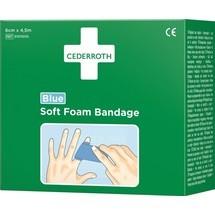 CEDERROTH Pflaster und Bandage Soft Foam, 6 cm x 4,5 m