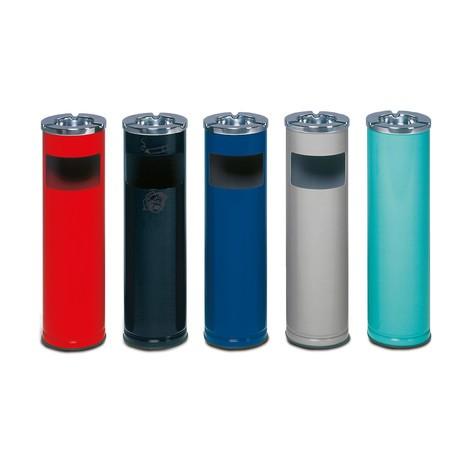 Cendrier colonne VAR® ELEGANT, modèle combiné