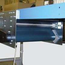Centerdrev til glidende bånd transportører
