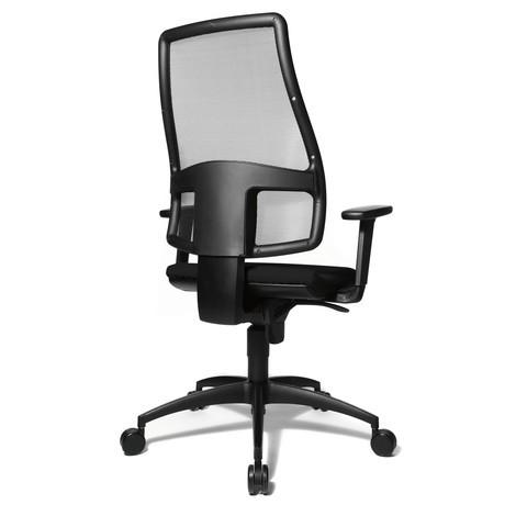 Chaise de bureau pivotante Topstar® Syncro avec dossier en mesh