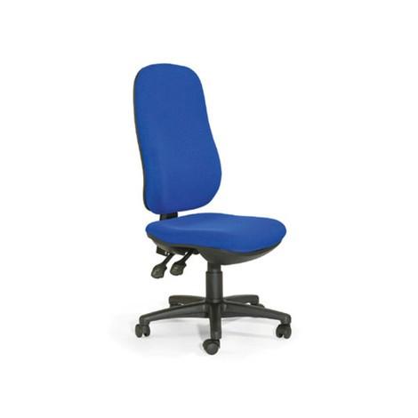 Chaise de bureau pivotante XXL, hauteur totale de 980 à 1100 mm