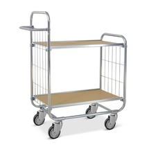 Chariot à étages ESD, flexible