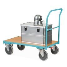 Chariot à plate-forme Ameise® avec arceau de poussée