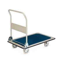 Chariot à plate-forme en acier, pliable
