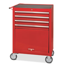 Chariot d'atelier Steinbock®. 4 tiroirs, 1 compartiment de rangement