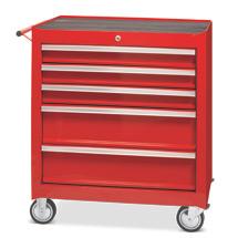 Chariot d'atelier Steinbock®. 5 - 7 tiroirs