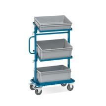 Chariot de montage fetra®, châssis ouverts, avec caisses