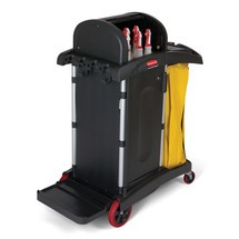 Chariot de nettoyage Rubbermaid HYGEN™, Haute sécurité