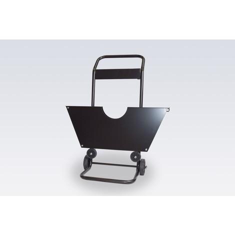 Chariot dérouleur pour feuillards en acier, version lourde