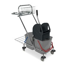 Chariot double baquet BASIC chromé