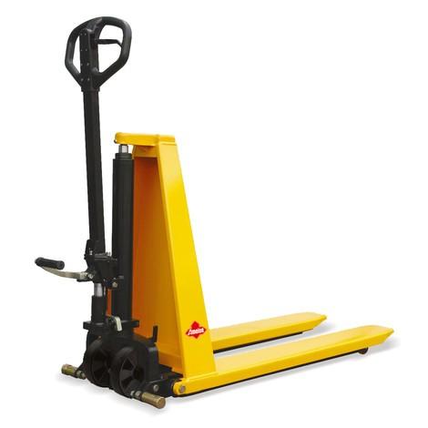 Chariot élévateur à ciseaux Ameise® avec levée rapide, RAL 1028 jaune melon