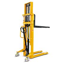 Chariot élévateur hydraulique Ameise® - mât télescopique, levée jusqu'à 3000 mm, capacité de charge 1000 kg