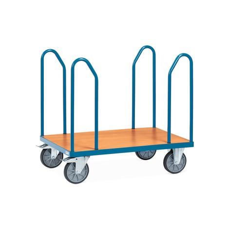 Chariot multifonctions fetra® avec arceaux latéraux en tube