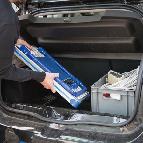 Chariot à plate-forme en aluminium rabattable, capacité de charge 100-150 kg