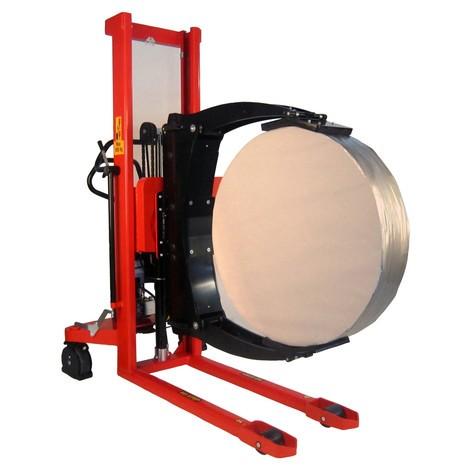 Chariot porte-bobine électrique, pivotant, porte-bobine réglable
