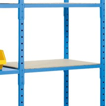 Chipboard shelf