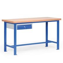 Ciężki stół warsztatowy z szufladami