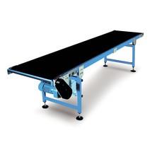 Cinta transportadora accionada, capacidad de carga máx. 30 kg/m de longitud de la correa
