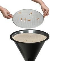 Cinzeiro com pé VAR® CLASSIC, plástico