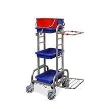 Čistiaci vozík z nerezovej ocele