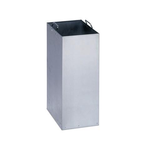 cobertura interna para caixote de reciclagem VAR®, galvanizado