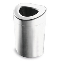 coletor de lixo, 170 litros, aberto