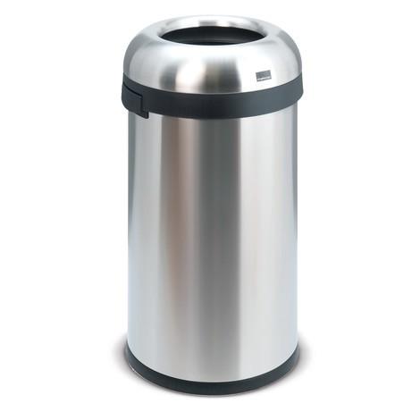 Coletor de resíduos aberto de 60 litros