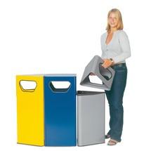 Coletor de resíduos VAR® Vario, 50/70 litros, triangular
