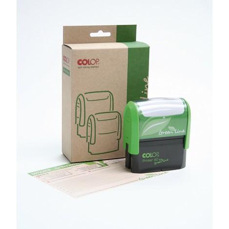 COLOP® Firmen- und Adressstempel Green Line