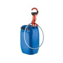 Combiflux mit Akku-Pumpe für Säuren und Laugen