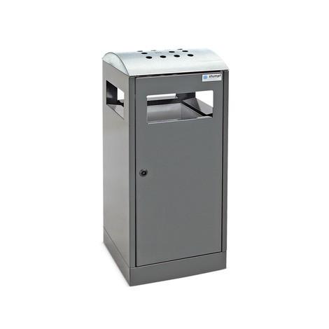 Combinação de cinzeiro e caixote de lixo stumpf®