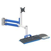 Combinatiezwenkarm TFT- en toetsenbordhouder voor de pakstations Classic en Multiplex