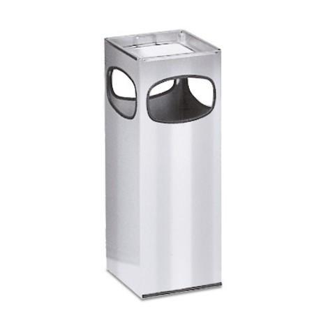 Combinazione posacenere-cestino dei rifiuti VAR®, acciaio inox, 28 litri