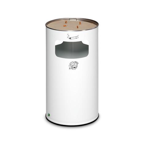 Combinazione posacenere-cestino dei rifiuti VAR®, modello a colonna, 69,2 litri