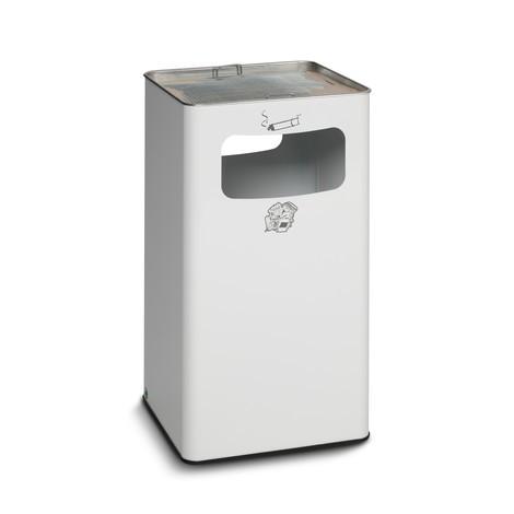 Combinazione posacenere-cestino dei rifiuti VAR®, modello a colonna, 96,1 litri