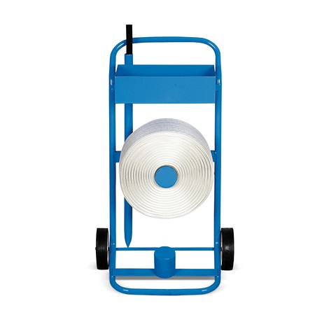 Comfort reinforced strapping dispenser