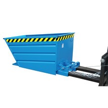 Compact tipping container, galvanised