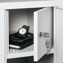 Compartiment pour objets de valeur pour armoire-penderie C+P