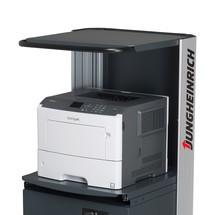 Compartimento para impressora B500 para a mesa de trabalho móvel Jungheinrich