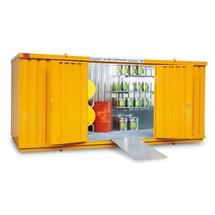 Compleet pakket milieucontainer WVK, opvangvolume 1480 l