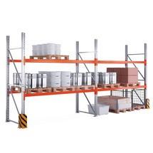 Complete package, META MULTIPAL pallet rack
