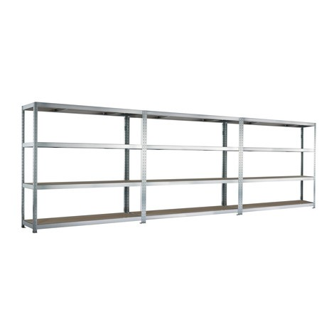 Complete package, META wide-span rack, with chipboard