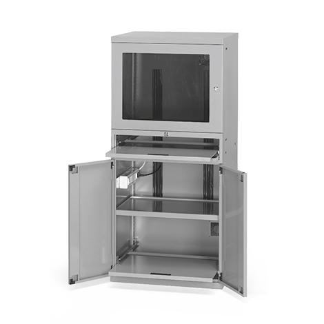 Computerschrank, 1 Ventilator, 1560x717x635mm
