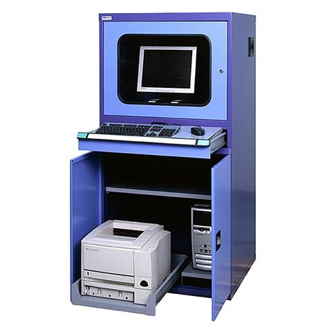 Computerschrank, 1600x800x695mm, mit Flügeltüren