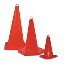 cone de tráfego feito de polipropileno