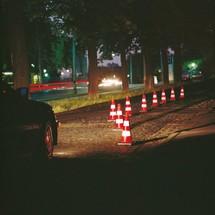 Cone de tráfego para utilização em espaços públicos