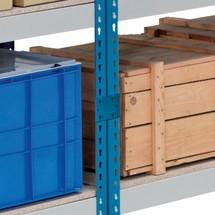 Conector de estante inferior para rack de gran alcance SCHULTE