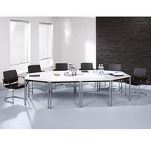 Conferentietafel Premium, trapezevorm