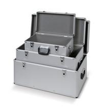 Conjunto de caixas em alumínio