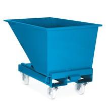 Conjunto de rodas para recipiente basculante com acionamento automático